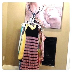 Betsy Johnson Crochet & Lace Dress. Flattering!